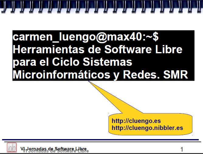 SMR utilizando Software Libre